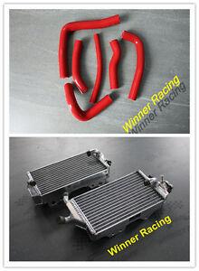 Aluminum Radiator & Hoses Fit Honda CR 250 R/CR250R 2000 2001