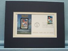 Detroit Tiger Great Hank Greenberg & First Day Cover of his own stamp