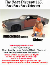 Musclemen  Striper  American Diorama 1:24 Mechanic Resin Figure Sale-Sale-Sale