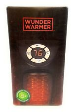Wunder Warmer Portable Mini Space Heater 350W Electric Wall Outlet Ht1206