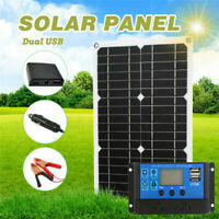 180W Solar Panel Kit 12V Battery Charger 10-100A Controller For Caravan Boat RV