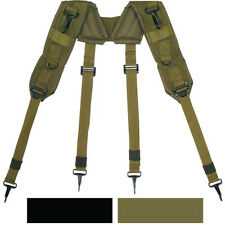 LC-1 H Style Suspenders Military Army Tactical Load Bearing Pistol Belt ALICE