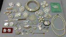 of Pearl Jewelry Lot of Vintage Mother
