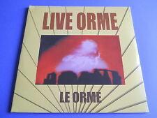 LP ITALIAN PROG LE ORME - LIVE ORME - 3 LP SIGILLATO