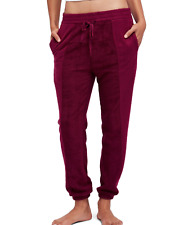 FREE PEOPLE ALL DAY ALL NIGHT ELASTIC WAIST MULBERRY SOFT JOGGER PANTS Sz L