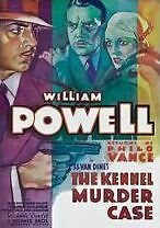 KENNEL MURDER CASE - DVD - Region Free - Sealed