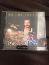 Yanni Live At The Acropolis CD with Royal Philharmonic Concert Orchestra
