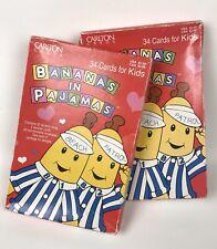 Vintage 1997 Bananas In Pajamas Valentine Cards New In Box