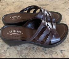 Eastland Women's Poppy Dress Sandal Size US 6M Brown (3860-02M) NEW