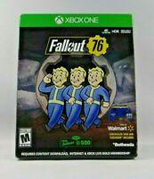Fallout 76 Walmart Exclusive Controller Skin & Steelbook (Xbox One)
