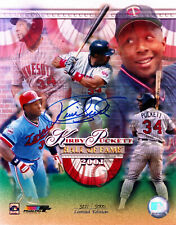 Kirby Pucket Twins Signed 8x10 autographed photo Reprint