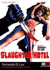 Slaughter Hotel (DVD, 2014) Klaus Kinski Fernando Di Leo Raro Video