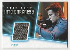 Chris Pine / Kirk Star Trek Movies Into Darkness Costume Wardrobe Card RC10 /300
