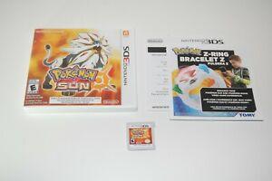 Nintendo 3DS Pokemon Sun - Complete