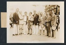 1922 MISS AMERICA JUDGES (Norman Rockwell, Howard Christy)++ Vintage Photo