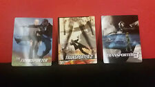 THE TRANSPORTER TRILOGY 1 2 3 - 3D Lenticular Magnet Cover for BLURAY STEELBOOK