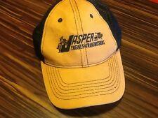Jasper Engines & Transmissions Khaki & Black Trucker Style Hat EUC!