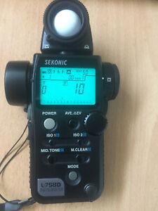 SEKONIC Flashmeter L-758D