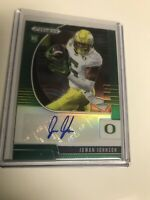 Juwan Johnson 2020 Prizm Draft /Green  Prizm Rookie Auto RC