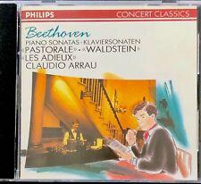 Beethoven: Piano Sonatas (CD, Philips) Claudio Arrau