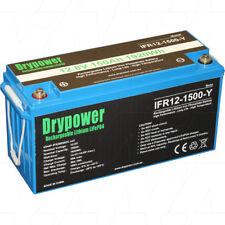 Drypower 12V 150ah Lithium Iron LiFePo4 Deep Cycle Battery Solar 4WD Caravan