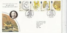 GB 1993 Marine Timekeepers FDC Greenwich CDS with enclosure VGC