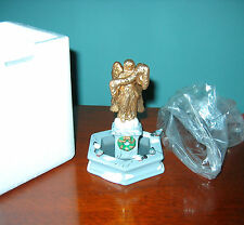 "Department 56  ""Spirit Of The Season Water Fountain"" Heritage Village w/Box"