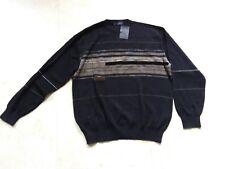 1404 NEUF pull homme GUY de BERAC taille 4 colori noir RDC D JACQ ALC 50% laine