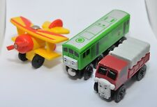 BoCo, Tiger Moth and LORRY 3 / Extremely rare Thomas wooden train set
