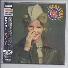 SURVIVOR same s/t 1979 JAPAN mini lp cd Sony JAPAN papersleeve BVCP 40028 NEW