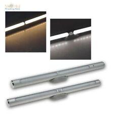 LED Battery Aluminium Lamp 30cm, Light With Magnet & Motion Sensor Pir, USB