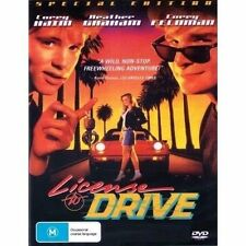 Licence To Drive DVD  New AND SEALED