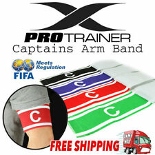 Red Purple Black Green Soccer Football Captain Armband Arm BandThe one Size will