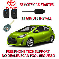 14 15 16 17 TOYOTA PRIUS C REMOTE START- NO WIRE SPLICING-REGULAR KEY ONLY