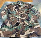US Army Cold Weather Parka Camouflage Camo Jacket Coat Size XXL *GREAT SHAPE*