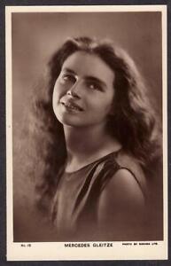 POSTCARD MERCEDES GLEITZE SWIMMER SWIMS ENGLISH CHANNEL & STRAITS GIBRALTAR 1928
