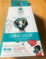 """CALM PAWS DOG CARING COLLAR Small Neck Size 8""""-11"""" New"""