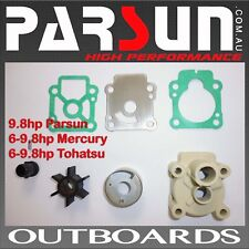 6hp / 9.8hp Parsun Outboard Water Pump Kit Mercury Tohatsu T9.8BMSWPK FREE POST