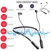 P15 Sport Bluetooth Earphone Neckband Wireless Headphone In-ear Earbuds Headset