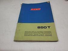 Catalogo parti di ricambio carrozzeria Fiat 850T anno 1970 .  [6108.16]