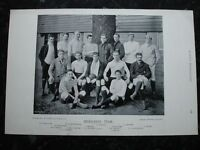 RARE Original Famous Footballers, #143 Middlesex Rugby Team 1895 - 96