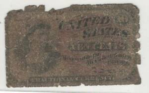 1869-1875 Fourth Issue 4th Series Ten Cent Red Seal Fractional Currency 10 Cents
