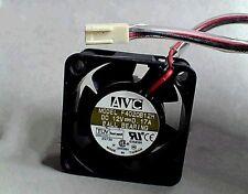 1 X F4020B12H AVC 12VDC 0.17A BALL BEARING FAN 40M X 20M TESTED *USE*