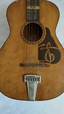 vintage 1950s silvertone the prep acoustic guitar Great condition Hard to Find
