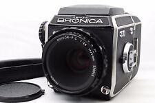 """Exc+++"" Bronica EC Medium Format Film Camera Nikon Nikkor-P.C 75mm Japan #D3"