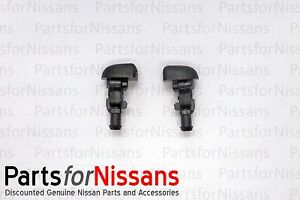 GENUINE NISSAN 2004-2015 TITAN ARMADA QX56 WINDSHIELD WASHER NOZZLE SET NEW OEM
