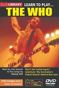 LICK LIBRARY LEARN TO PLAY THE WHO ELECTRIC GUITAR DVD