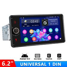 Joying Newest 6.2 Inch Single Din Car Stereo With Physical Button 4Gb+64Gb Dsp