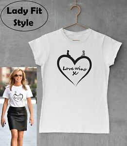 Love Wins T shirt Ladies Unisex Tee Be Kind Choose Love Charlie Inspired Comic