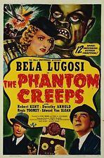 The Phantom Creeps - Classic Cliffhanger Serial Movie DVD Béla Lugosi